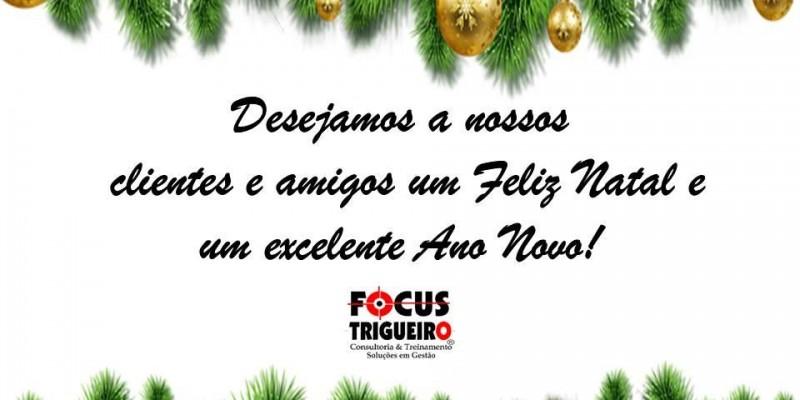 Feliz Natal e um excelente Ano Novo!