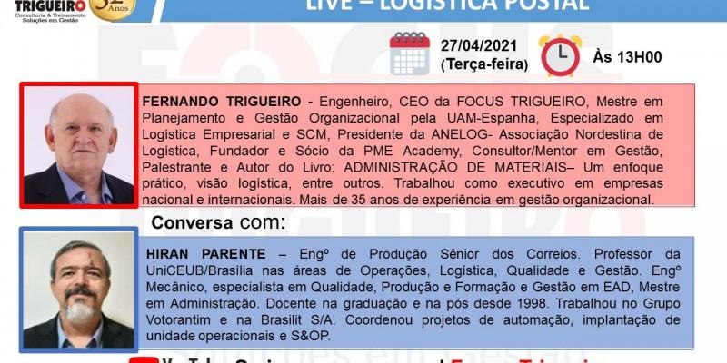 LIVE- LOGÍSTICA POSTAL(27/04/2021)