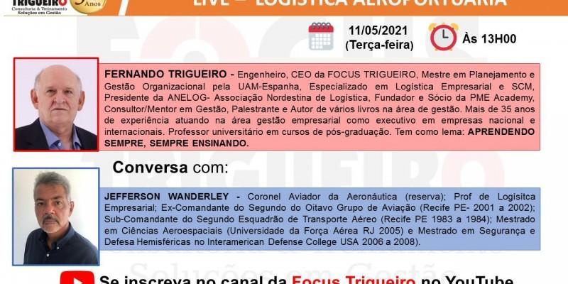 LIVE - LOGÍSTICA AEROPORTUÁRIA (11/05/2021)